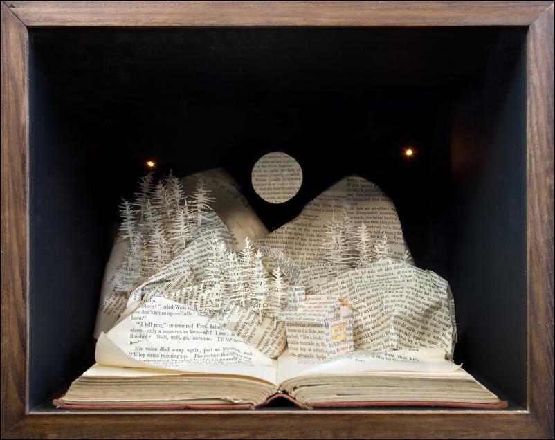 Как сделать картинку в виде книги