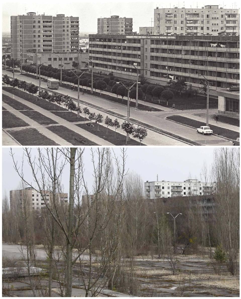 Чернобыль картинки после аварии