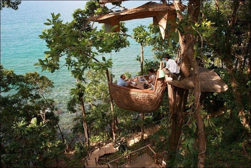 Ресторанчик на дереве