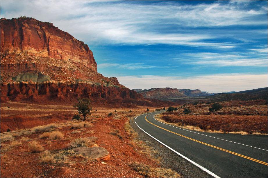 Самые красивые дороги Америки