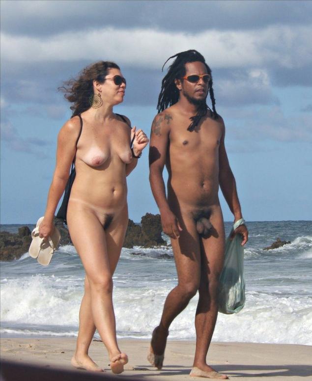 голые негры на нудиском пляже