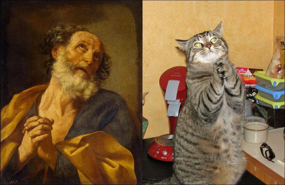 Коты и искусство