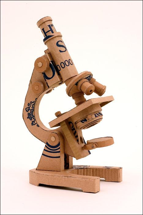 Скульптуры из картона