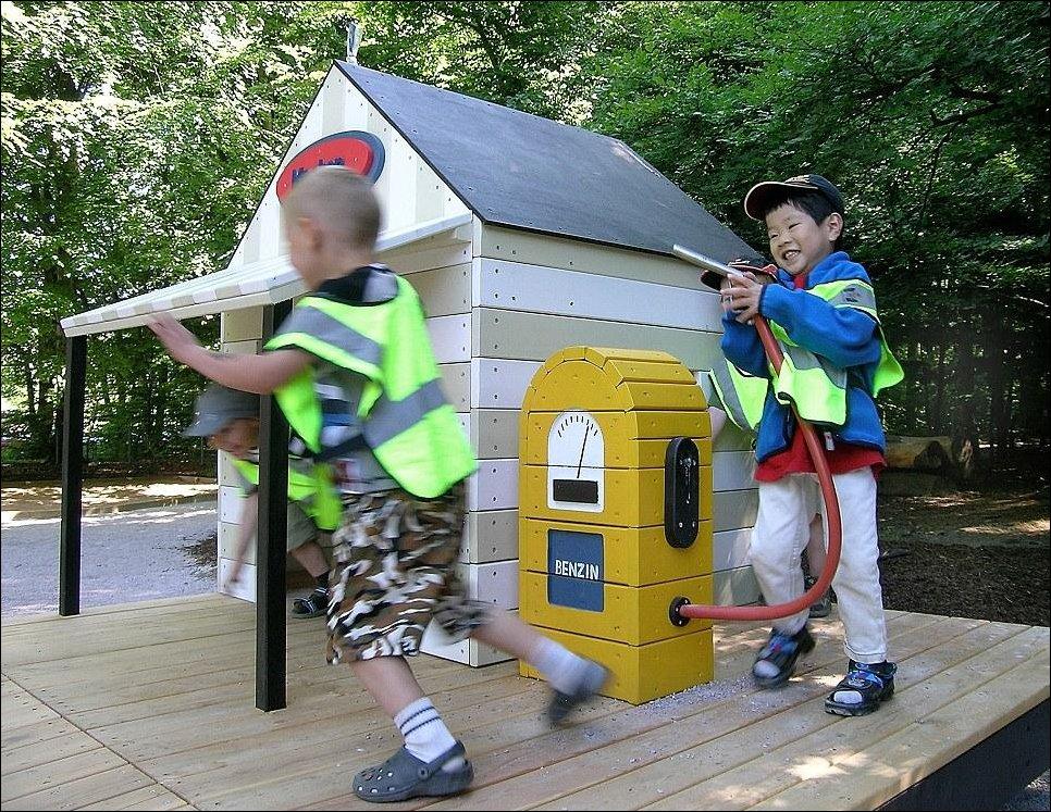 Красивые детские игровые площадки