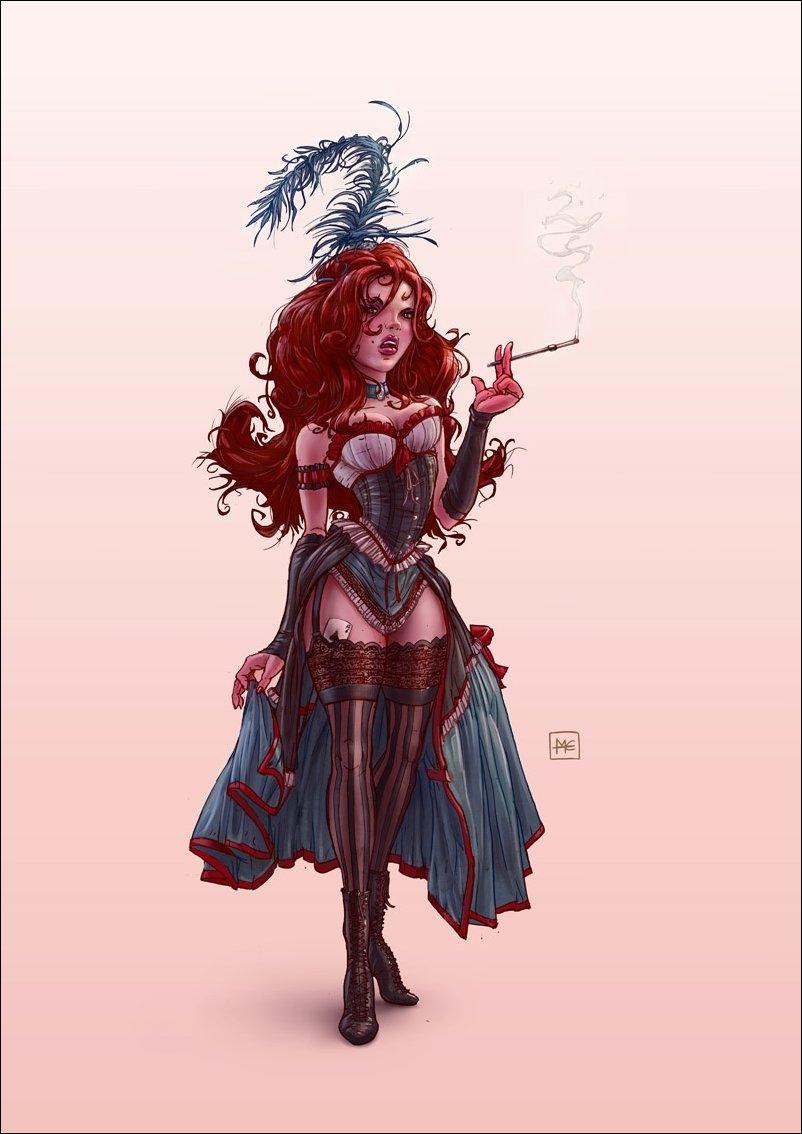 Иллюстрации художника Michal Dziekan