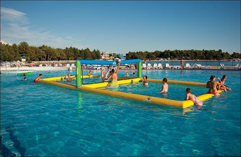 Надувные аквапарки wibit