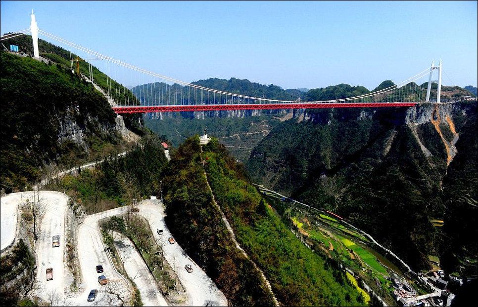 Самый высокий мост в мире