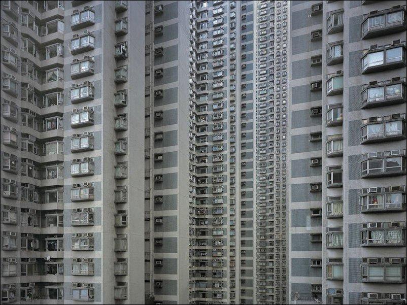 Жилые многоэтажки Гонконга