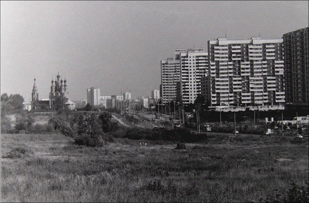 Старые фотографии Юго-Запада Москвы
