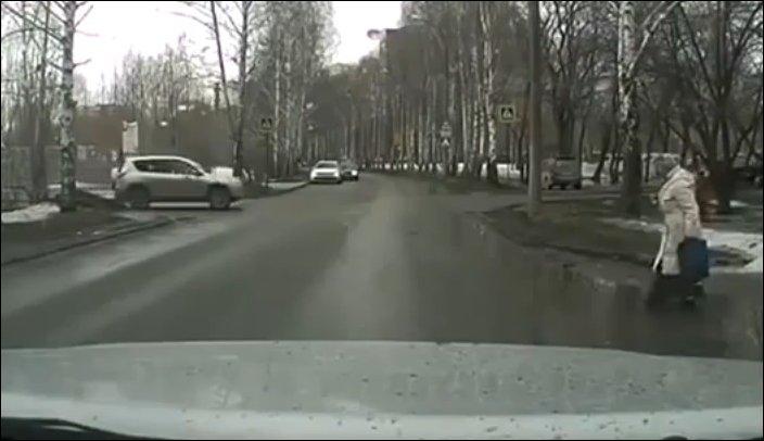 Нерешительный пешеход