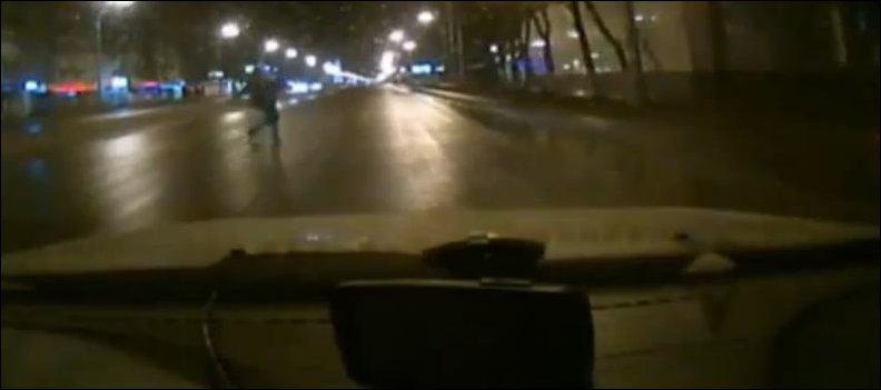 Автоподстава от пешехода