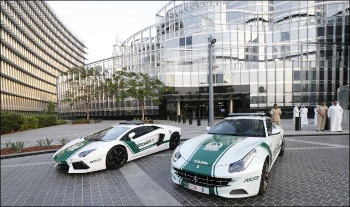 Суперкары полиции Дубаи