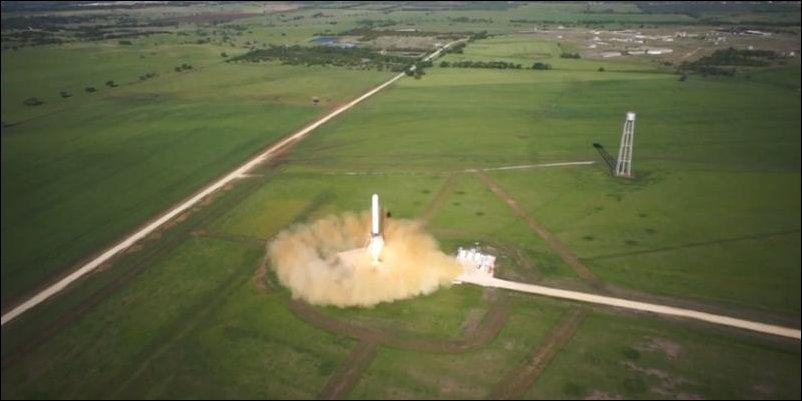 запуск и точная посадка ракеты SpaceX Grasshopper