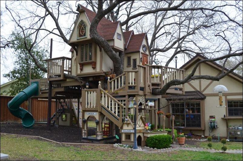 Самый классный дом на дереве