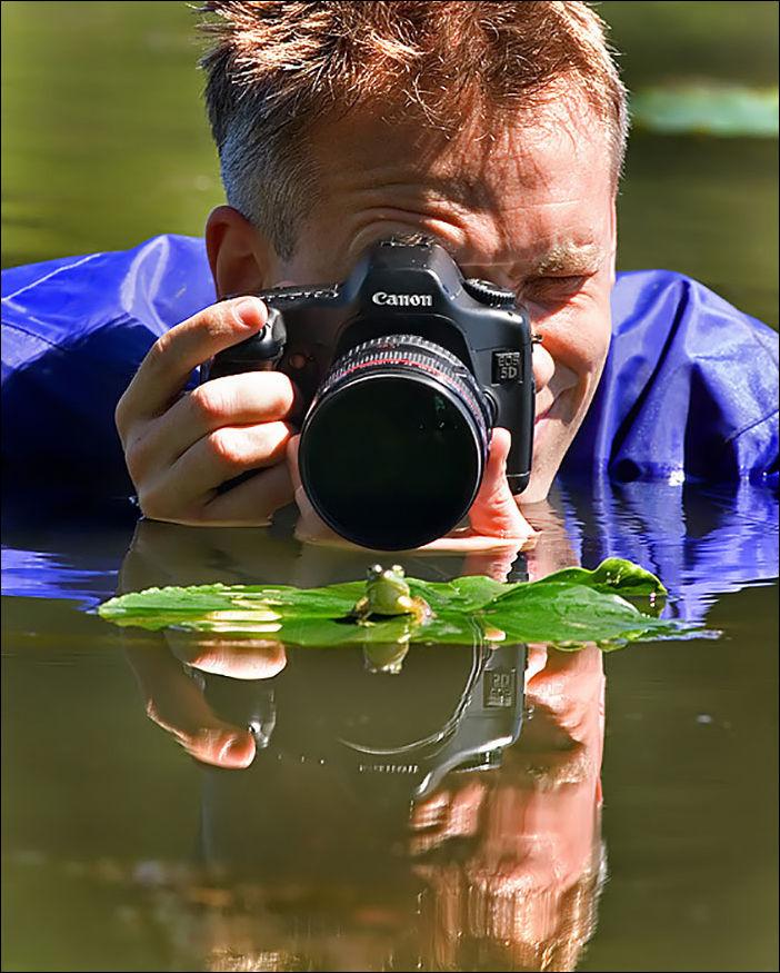 Фотограф за работой