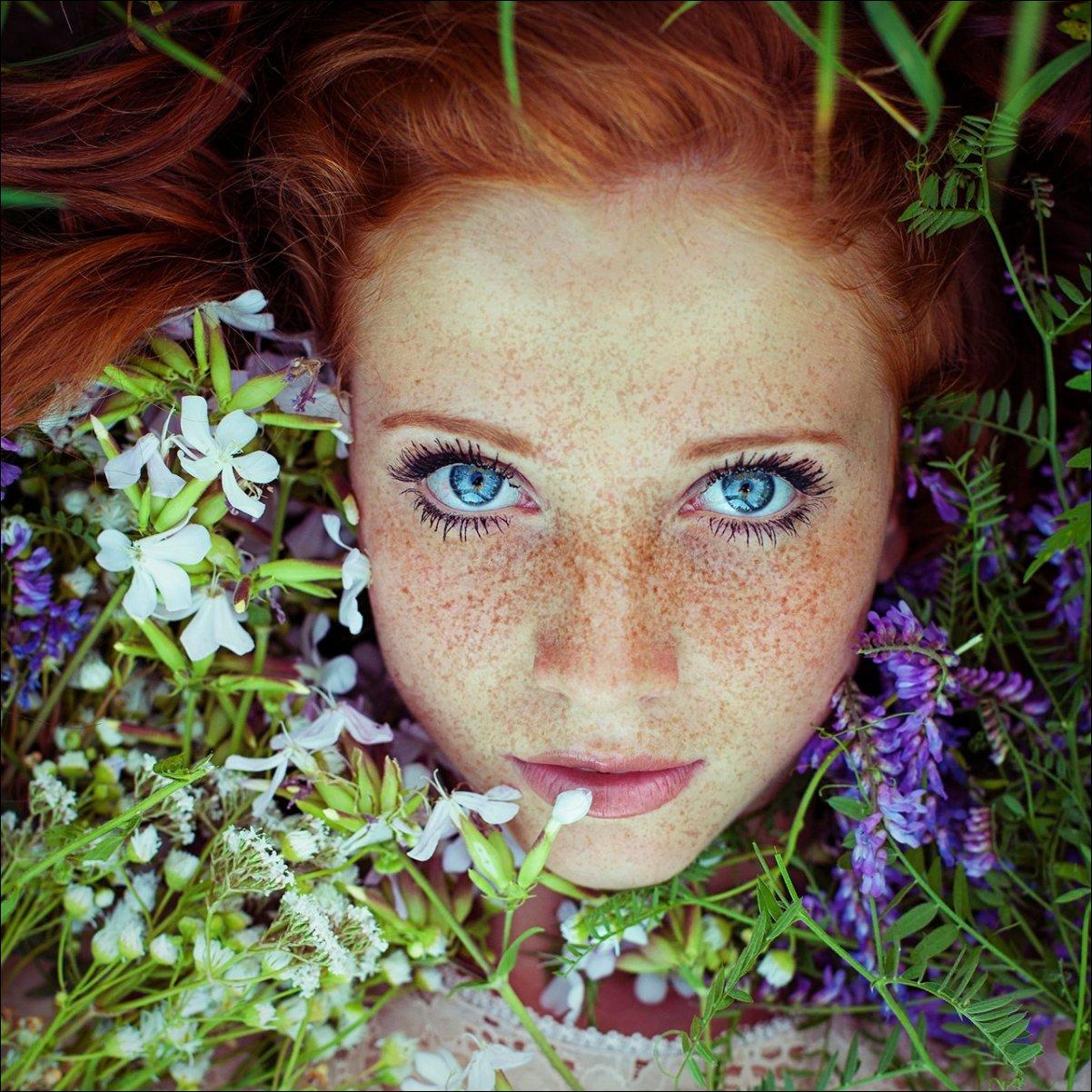 Фото рыжих красивых женщин 23 фотография