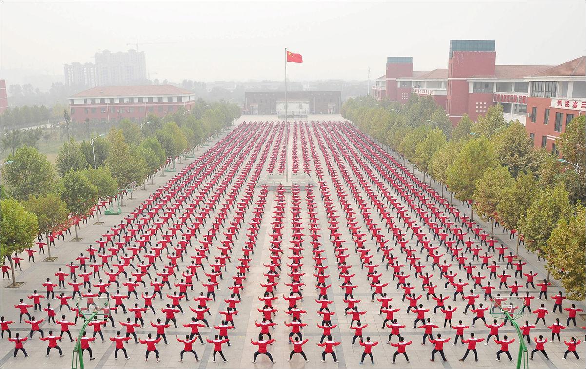 Китайское искусство толпы