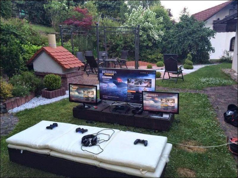 Комнаты геймеров