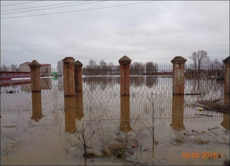 наводнение в великом устюге фото эколого-биологическая