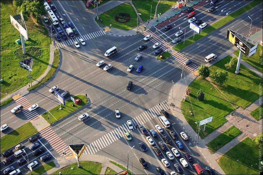 картинки перекрестков и дорогами
