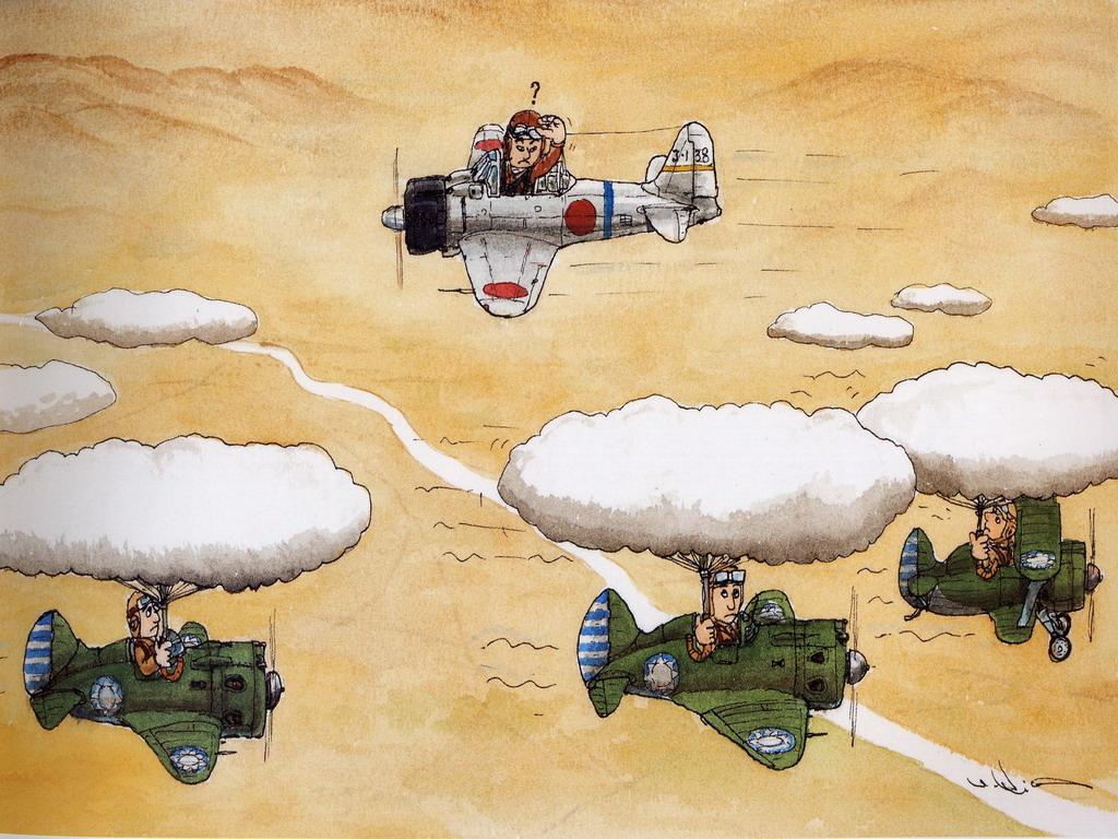 Смешные рисунки про авиацию