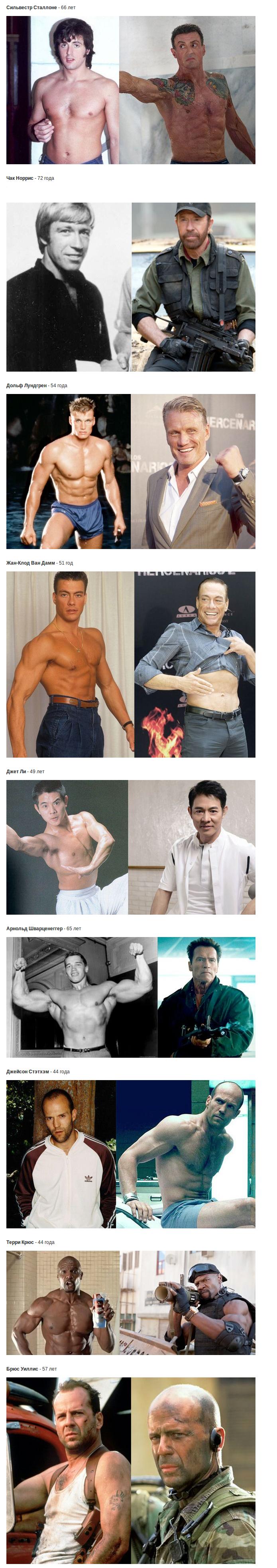 Актеры боевиков 80-90х годов