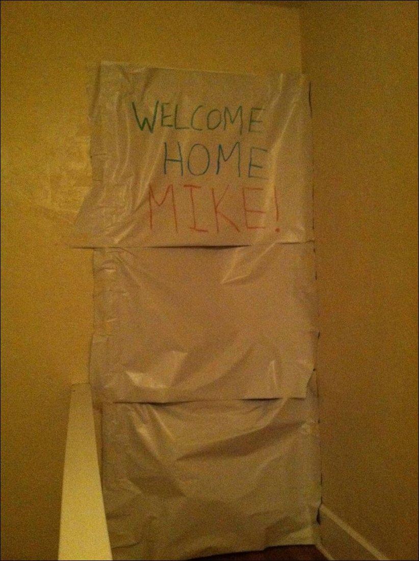 Сосед уехал на выходные