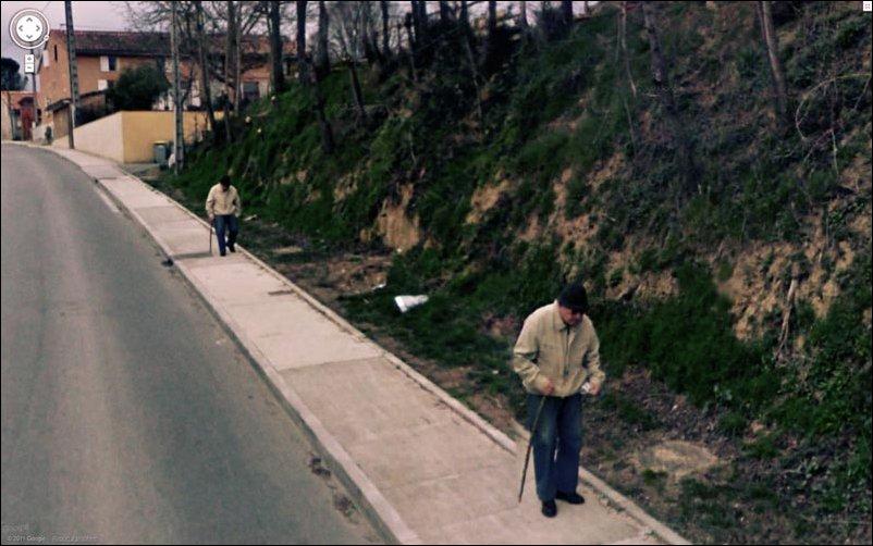 Интересное на Google Street View