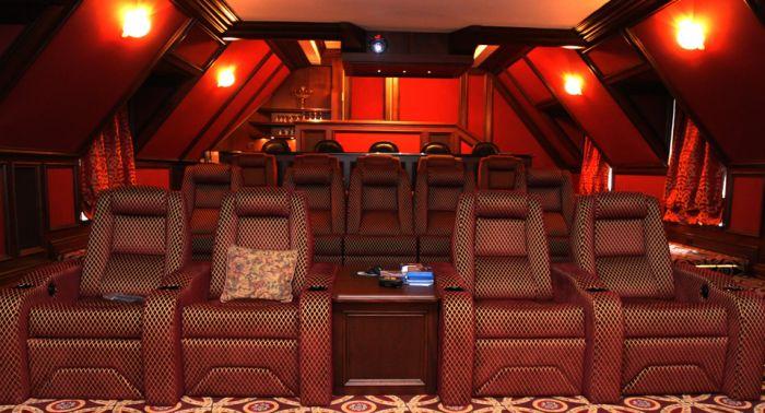 Впечатляющие домашние кинотеатры