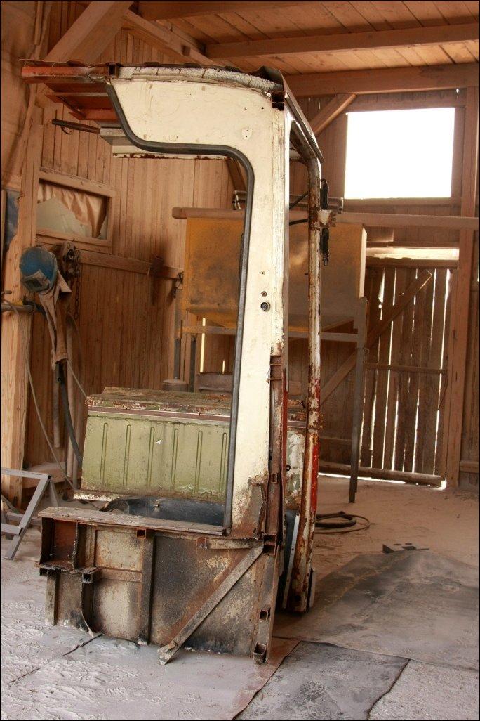Мини-кабинет из старого Икаруса