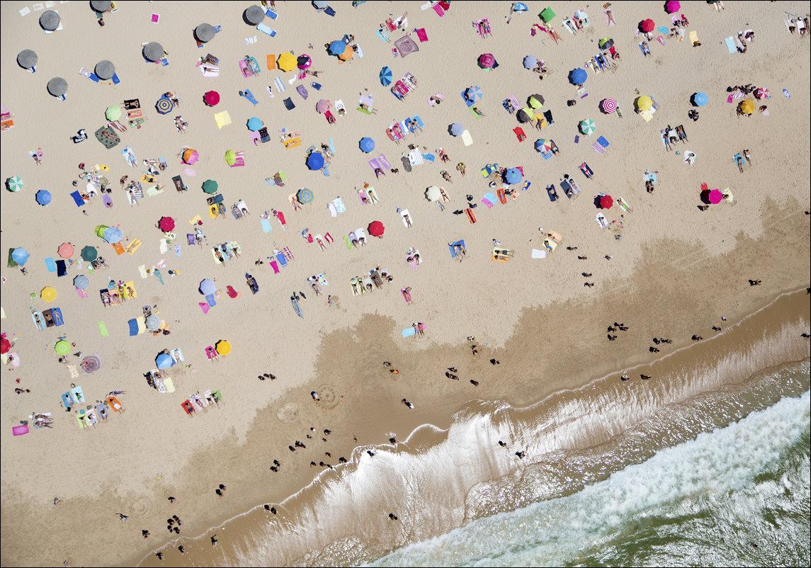Пляж с высоты птичьего полета