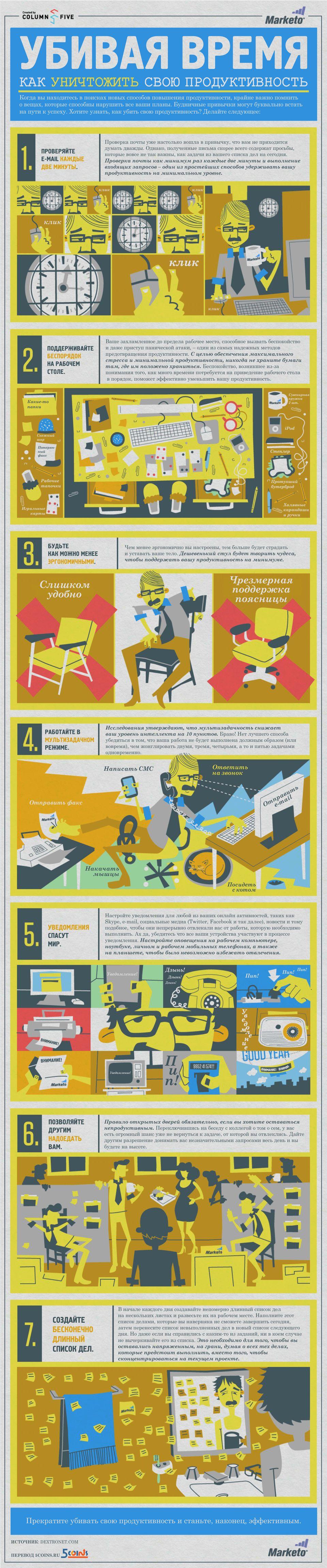 Как убить свою продуктивность
