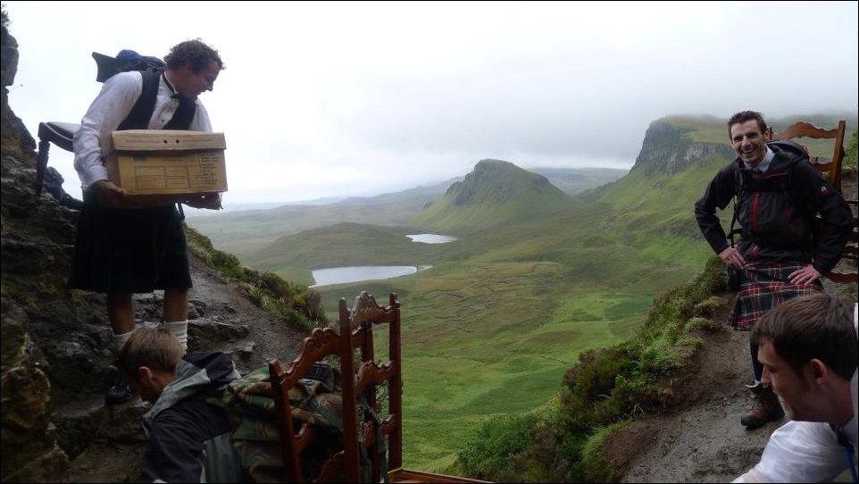 Пикник в Шотландии