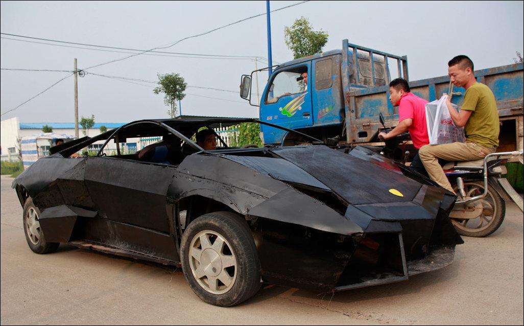 Самодельный Lamborghini Reventon