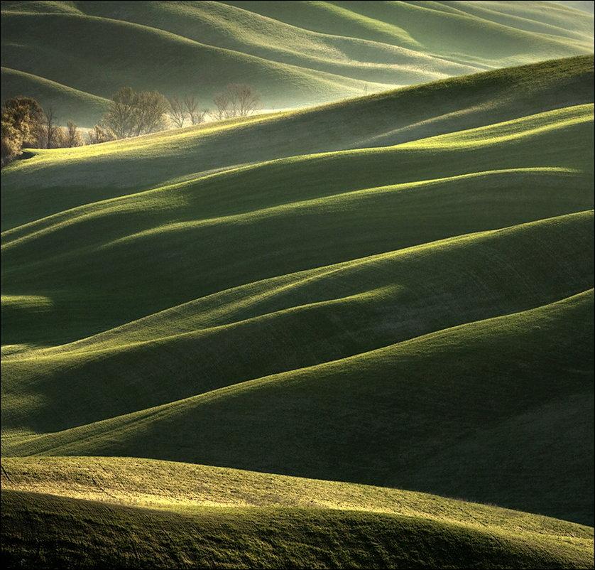 Изумрудные холмы итальянской Тосканы