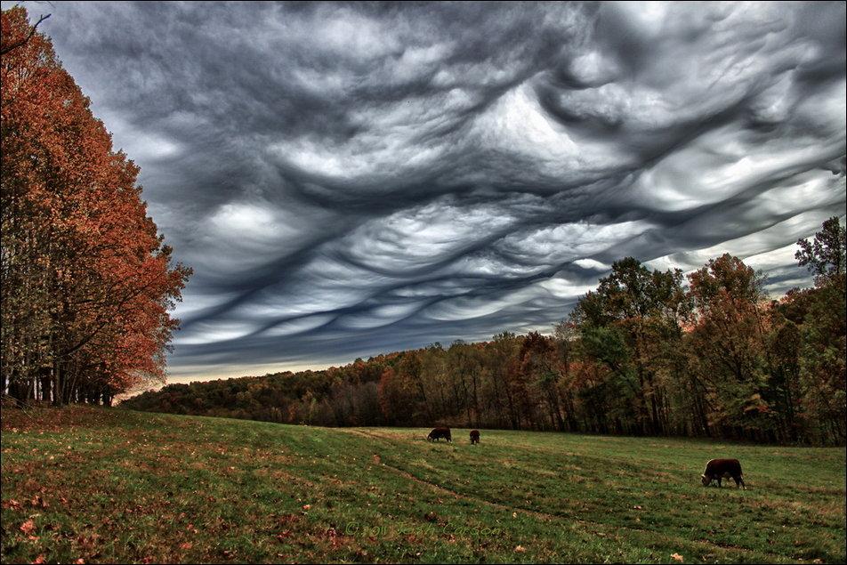 Удивительные облака