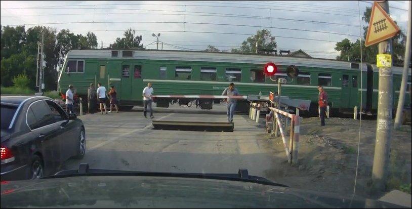 ДТП на переезде