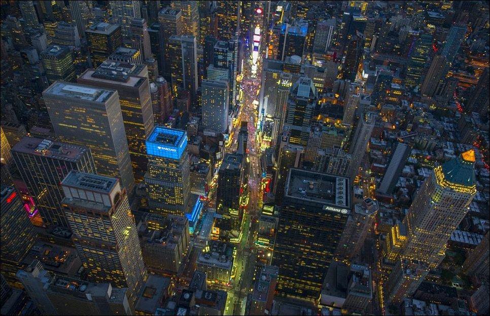 Нью йорк с высоты птичьего полета 18
