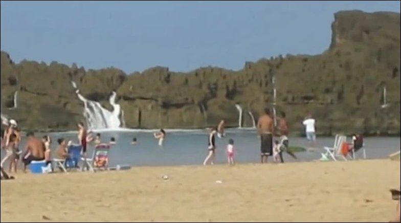 Один из пляжей Пуэрто Рико