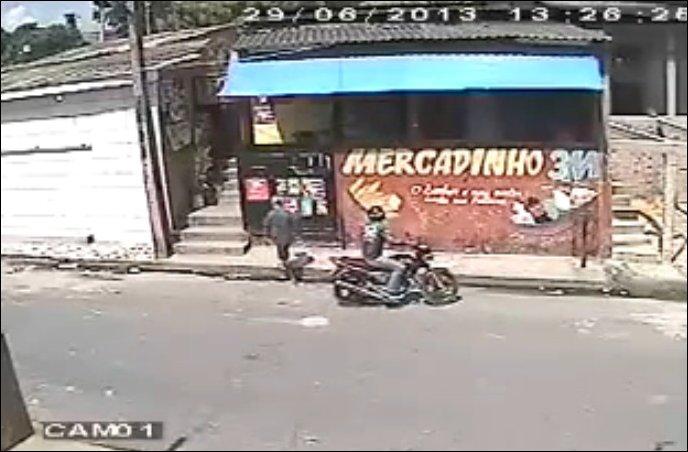 Неудавшееся ограбление магазина
