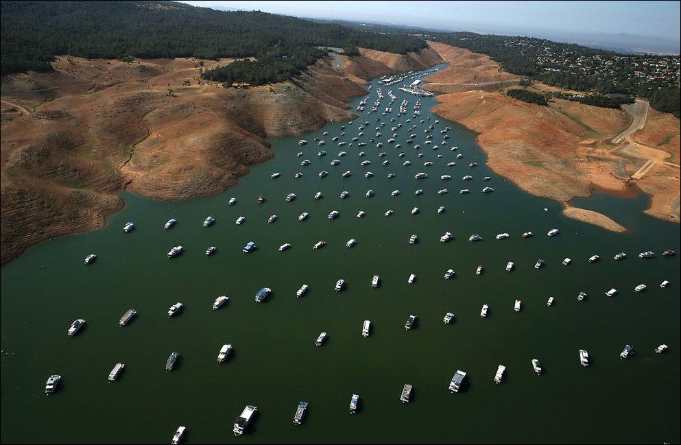 Сильнейшая засуха в Калифорнии