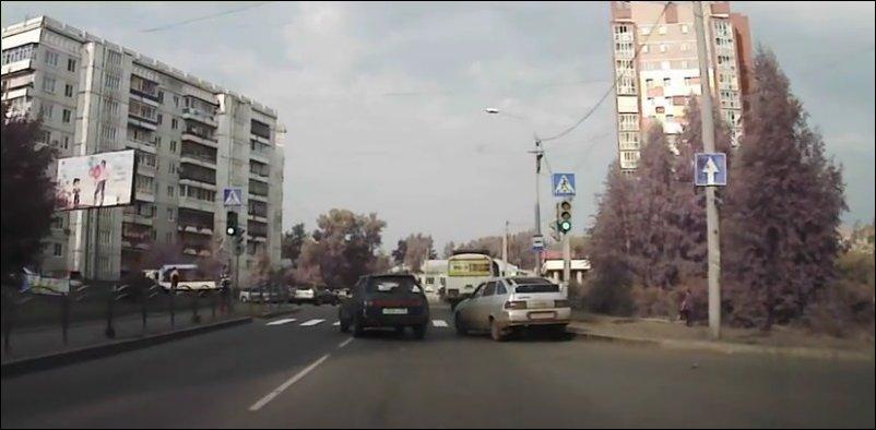Два дебила на дороге