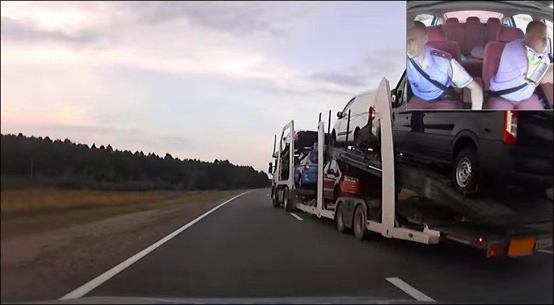 Погоня за тягачом