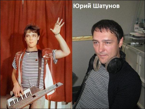 Звезды российской попсы тогда и сейчас