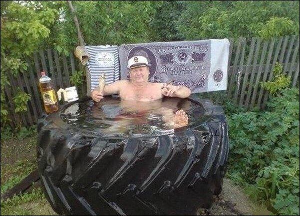 Лето в России