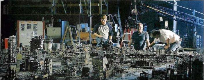 Терминатор - фото со съемочной площадки