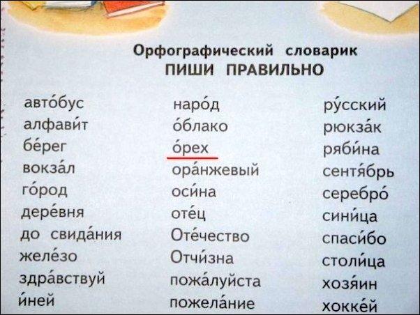 Перлы из школьных учебников