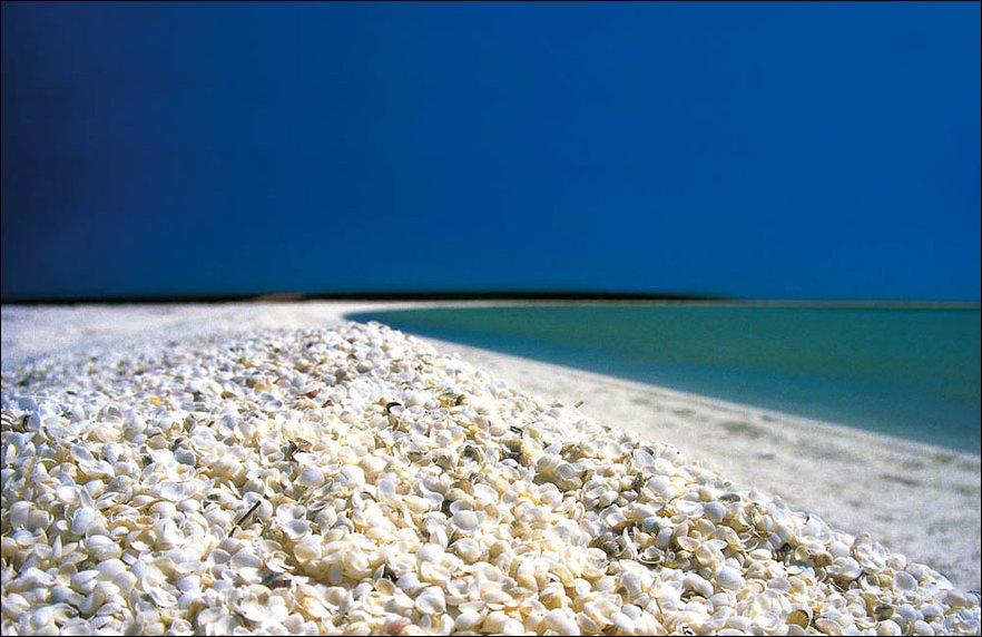 Необычный пляж