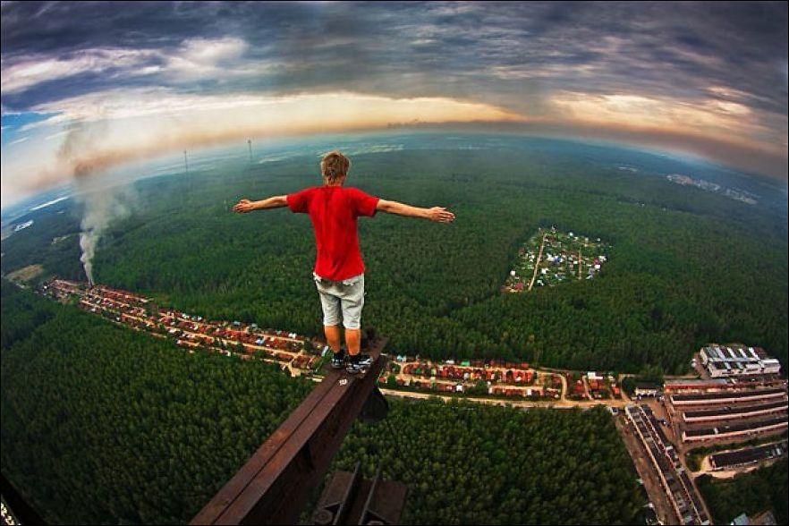 люди которые не боятся высоты