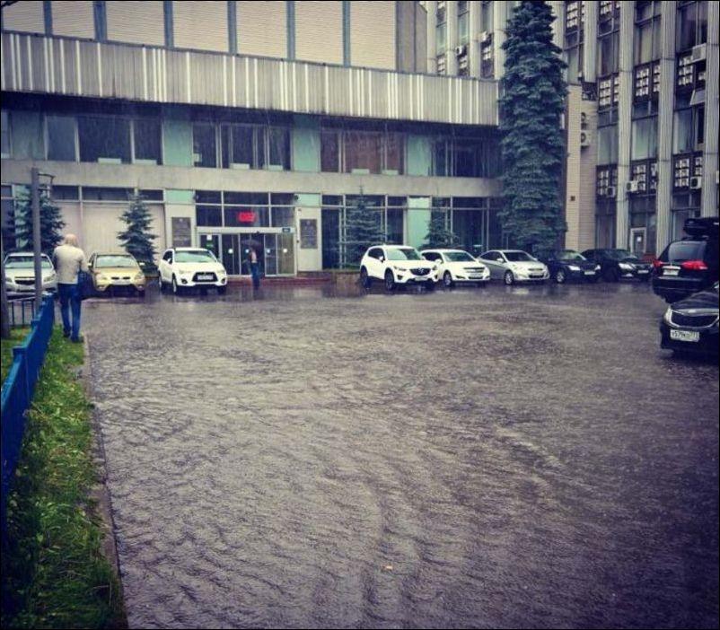 наводнение в Москве